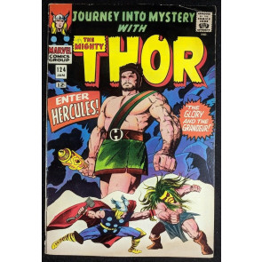 Journey into Mystery (1962) #124 GD (2.0) featuring Thor