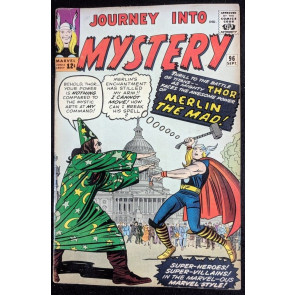 Journey into Mystery (1962) #96 VG/FN (5.0) featuring Thor