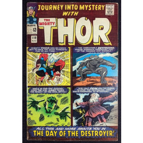 Journey into Mystery (1962) #119 VG+ (4.5) featuring Thor 1st app Warriors Three