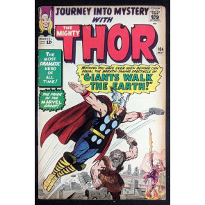 Journey into Mystery (1962) #104 FN- (5.5) featuring Thor