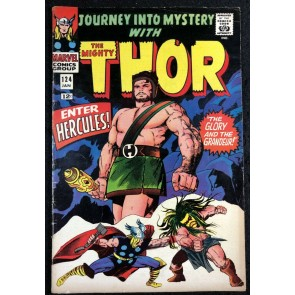 Journey into Mystery (1962) #124 FN (6.0) featuring Thor Hercules Cover & Story