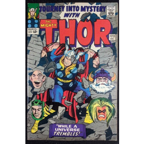 Journey into Mystery (1962) #123 FN+ (6.5) featuring Thor