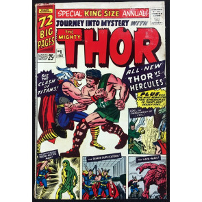 Journey into Mystery Annual (1965) #1 GD/VG (3.0) Thor 1st app Hercules