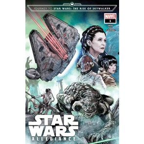 Journey To Star Wars: The Rise of Skywalker - Allegiance (2019) #'s 1 3 4 Set