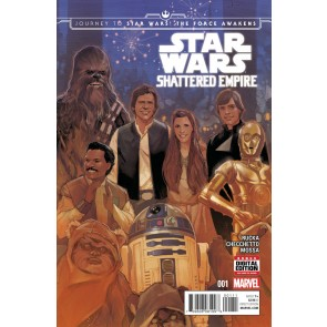 Journey to Star Wars: The Force Awakens - Shattered Empire (2015) #'s 1-4 Set