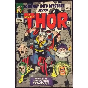 JOURNEY INTO MYSTERY #123 FN/VF JACK KIRBY THOR