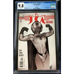 JSA Classified (2005) 2 CGC 9.8 2nd print classic Adam Hughes cover (2016786023)