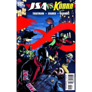 JSA VS KOBRA #'s 1, 2, 3, 4, 5, 6 COMPLETE SET JUSTICE SOCIETY OF AMERICA