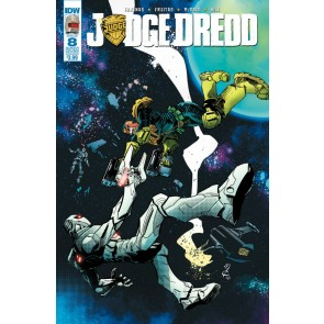Judge Dredd (2015) #8 VF/NM Rom Subscription Cover IDW