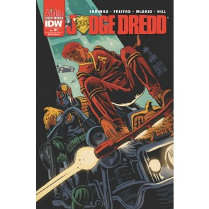 Judge Dredd (2015) #1 VF/NM-NM Francesco Francavilla Archie Subscription Cover
