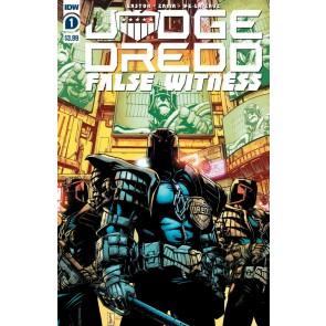 Judge Dredd: False Witness (2020) #1 of 4 VF/NM IDW