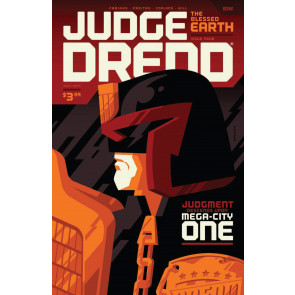 Judge Dredd: The Blessed Earth (2017) #4 VF/NM Tom Whalen IDW