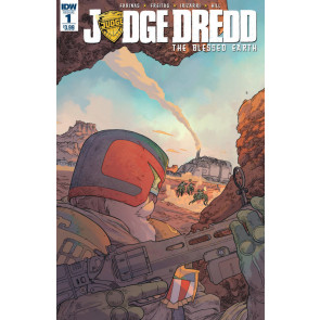 Judge Dredd: The Blessed Earth (2017) #1 VF/NM Ashcan + Regular Cover IDW