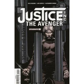 Justice Inc.: The Avenger (2017) #1 VF/NM Tom Mandrake Dynamite
