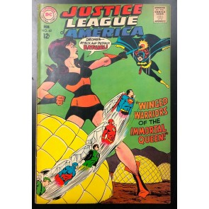 Justice League of America (1960) #60 FN (6.0) Batgirl Queen Bee
