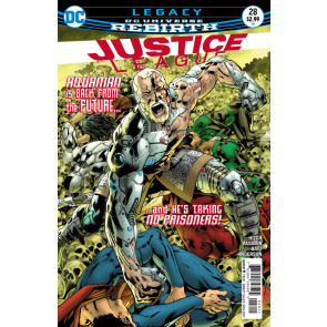 Justice League (2016) #28 VF/NM Hitch Cover DC Universe Rebirth