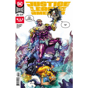 Justice League of America (2017) #20 VF/NM Carlos D'Anda Cover DC Universe