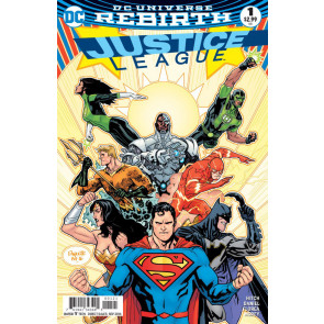 Justice League (2016) #'s 1 2 3 4 5 + Rebirth #1 Complete VF Set DC