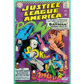 Justice League of America (1960) #46 FR/GD (1.5)  1st app of Silver Age Sandman