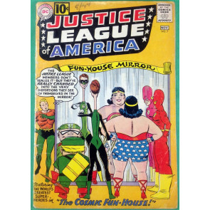 Justice League of America (1960) #7 GD (2.0) The Cosmic Fun-House