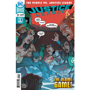 Justice League (2016) #37 VF/NM Pete Woods Cover DC Universe