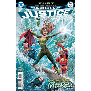Justice League (2016) #24 VF/NM Paul Pelletier DC Universe Rebirth