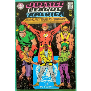 Justice League of America (1960) #57 VF- (7.5) United Nations cover