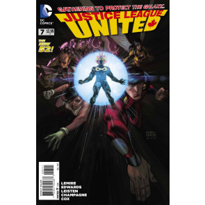 Justice League United (2014) #7 VF/NM