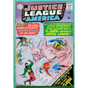 Justice League of America (1960) #37 FN- (5.5) 1st app of Silver Age Mr Terrific