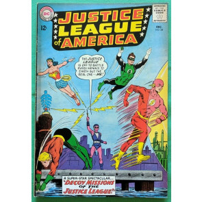 Justice League of America (1960) #24 FN- (5.5) Adam Strange app