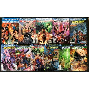 Justice League (2016) #1-10 + Rebirth #1 all cover A NM (9.4) 11 comics total