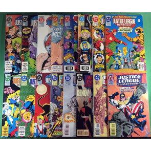 Justice League Quarterly (1990) 1-16 near set missing 17 Linsner Mignola Cockrum