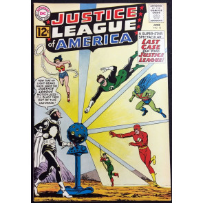 Justice League of America (1960) #12 VF (8.0) 1st App Dr. Light