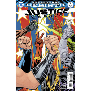 Justice League (2016) #16 VF/NM Paquette Cover Variant DC Universe Rebirth