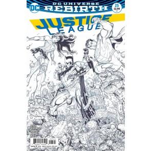 Justice League (2016) #25 VF/NM Nick Bradshaw Cover Variant DC Universe Rebirth