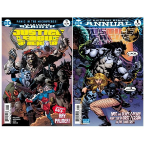 Justice League of America (2017) #'s 15-19 22-29 + Annual #1 VF/NM Set Rebirth