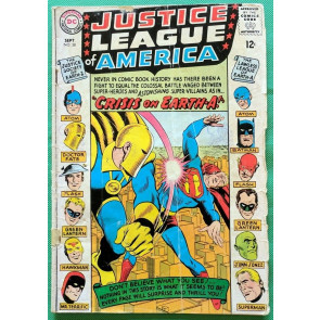 Justice League of America (1960) #38 GD- (1.8)  Crisis on Earth A