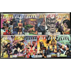 Justice League Elite (2004) #1-12 VF/NM (9.0) complete set