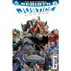 Justice League (2016) #'s 30 31 - 36 37 38 39 40 41 42 43 JG Jones Variant Cover