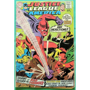 Justice League of America (1960) #64 GD/VG (3.0) 1st app Silver Age Red Tornado
