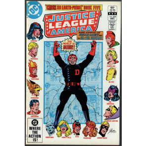 Justice League of America (1960) #209 VF (8.0) Crisis on Earth Prime part 5
