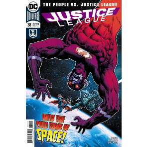 "Justice League (2016) #38 VF/NM ""The People vs. Justice League"" part 5 Cover A"