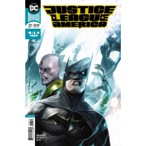 Justice League of America (2017) #27 VF/NM Francesco Mattina Cover DC Universe