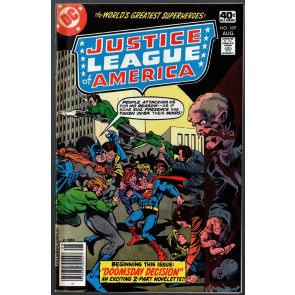Justice League of America (1960) #169 VF- (7.5)