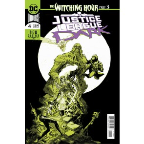 Justice League Dark (2018) #4 VF+ Riley Rossmo Regular Foil Cover