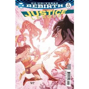 Justice League (2016) #15 VF/NM Paquette Cover DC Universe Rebirth