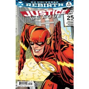 Justice League (2016) #8 VF/NM Paquette Cover DC Universe Rebirth