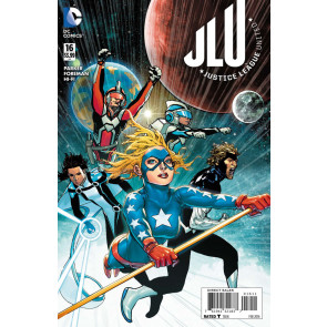 Justice League United (2014) #16 VF/NM Final Issue