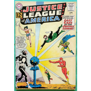 Justice League of America (1960) #12 VG+ (4.5)  1st App Dr. Light