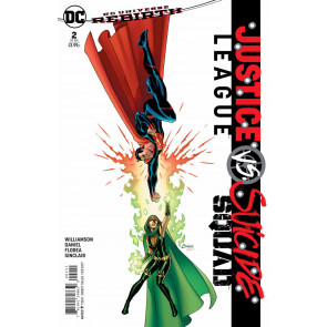 Justice League vs. Suicide Squad (2016) #2 VF/NM Amanda Conner Variant Cover DC